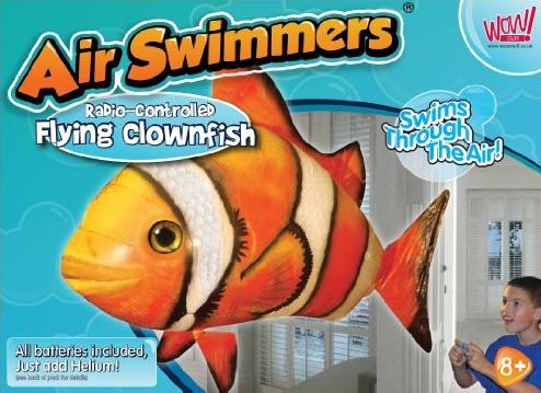 Bild Air Swimmer Clownfisch