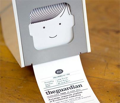 Bild Little Printer - das lustige Drucker Gadget
